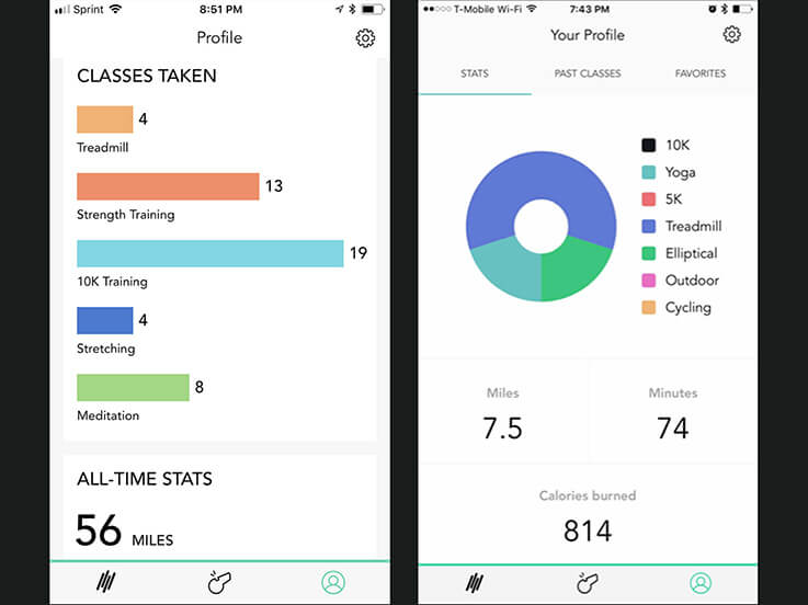 Aaptiv; Apps for Treadmill