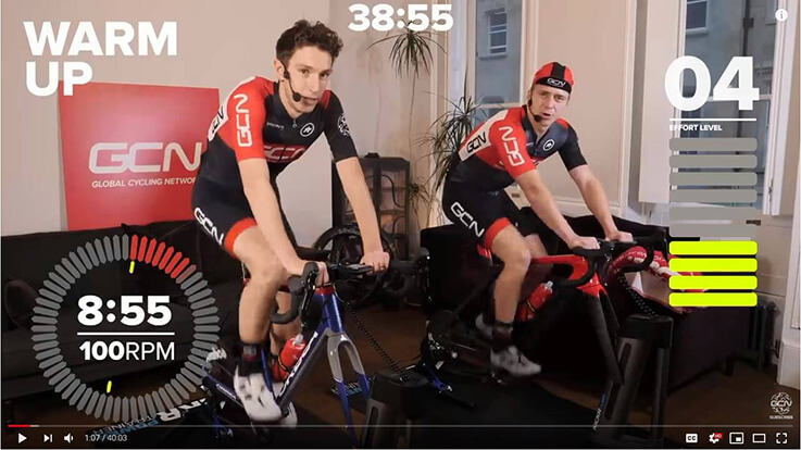 Spinning Workouts at home