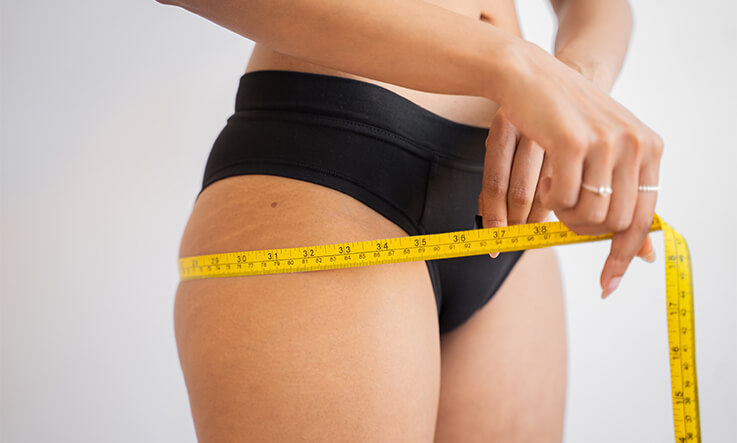 What is a healthy BMI - Check hip to waist ratio