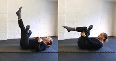 Full Body Stretch - Piriformis Figure 4