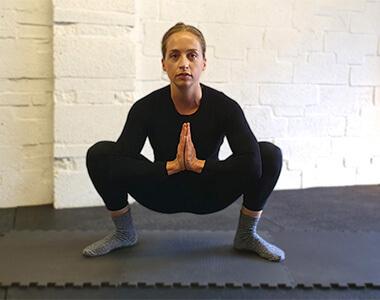 Full Body Stretch - Deep Squat