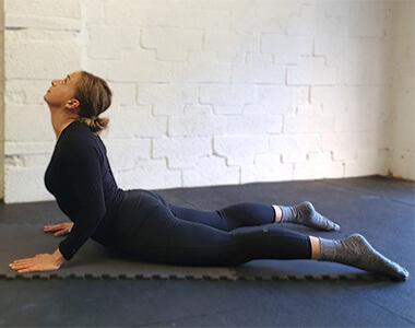 Full Body Stretch - Cobra