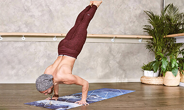 New skills to learn in self-isolation - Handstand