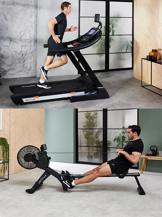 Treadmills Vs Rowing Machines